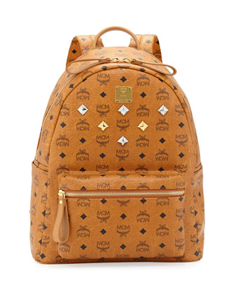 Sprinkle Logo-Print Backpack, Cognac