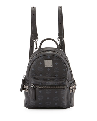 Stark Visetos Mini Backpack, Black