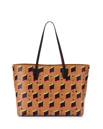Project Visetos Shopper Tote, Cognac