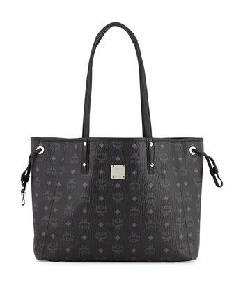 Shopper Project Reversible Logo-Print Shopper Bag, Black