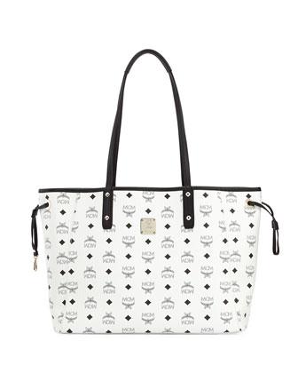 Shopper Project Reversible Logo-Print Shopper Bag, White