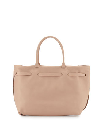 Monili Chain-Trim Maxi Tote Bag, Golden Brown