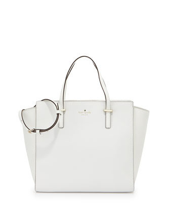 cedar street hayden crossbody bag, bright white