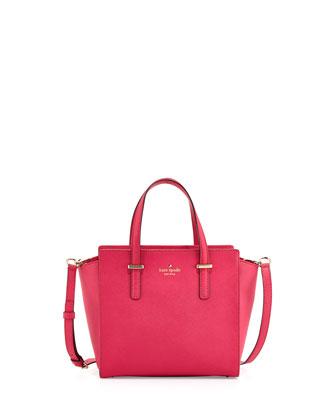 cedar street small hayden tote bag, sweetheart pink