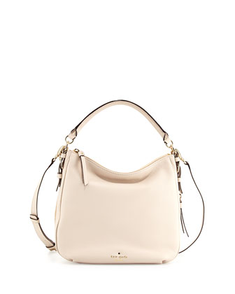 cobble hill ella small shoulder bag, pebble