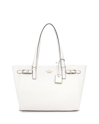 holden street finn tote bag, bright white