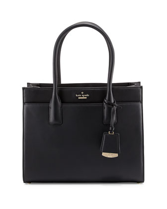 lucca drive candace tote bag, black