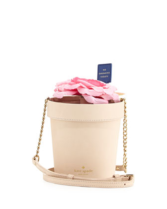 spring forward flowerpot crossbody bag