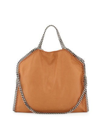 Falabella Fold-Over Tote Bag, Tan