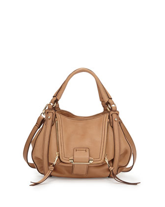 Jonnie Mini Crossbody Bag, Camel