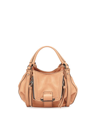 Jonnie Mini Crossbody Bag, Rose Gold