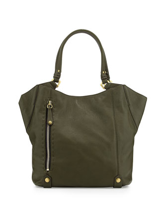Aquarius Leather Shoulder Bag, Forest