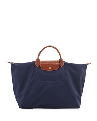 Le Pliage Weekend Travel Bag, New Navy