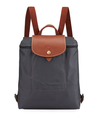 Le Pliage Nylon Backpack, Gunmetal