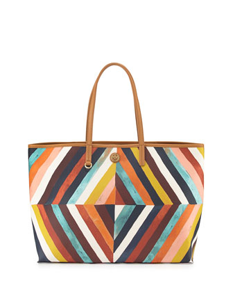 Kerrington Square Tote Bag, Diamond Combo