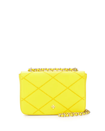 Robinson Stitched Crossbody Bag, Sunshine