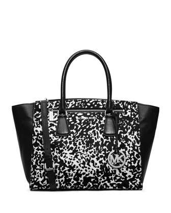 Large Sophie Calf-Hair Satchel