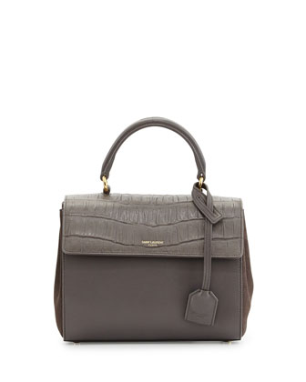 Moujik Mini Flap Satchel Bag, Earth