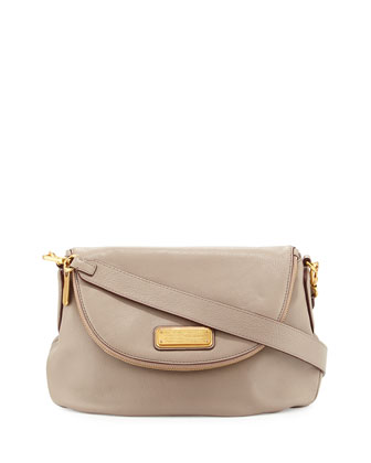 New Q Natasha Crossbody Bag, Cement