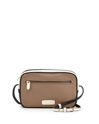 Sally Colorblock Crossbody Bag, Mouse Multi