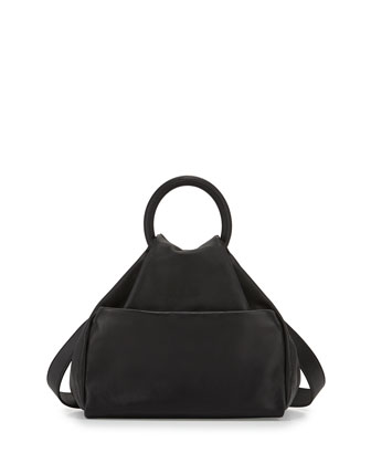 Hangin' Round Medium Ring Tote Bag, Black
