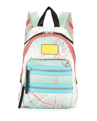 Domo Arigato Mini Packrat Backpack, Light Mint Multi