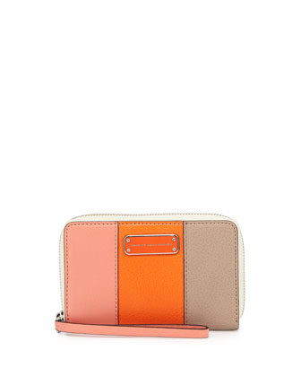 Too Hot To Handle Wingman Tech Wallet, Sprint Peach Multi