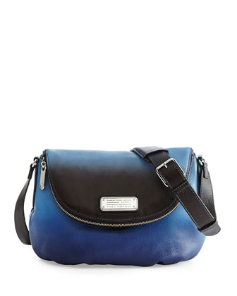 New Q Ombre Natasha Bag, Black/Multi