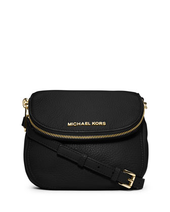 Bedford Flap Crossbody Bag, Black