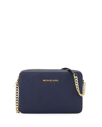 Jet Set Travel Large Crossbody Bag, Navy