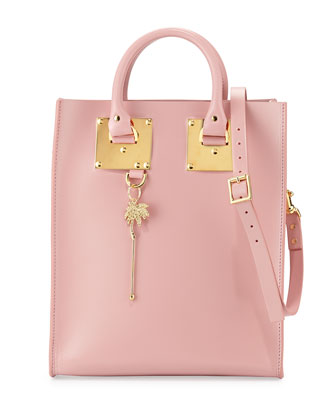 Albion Mini North-South Tote Bag, Pink