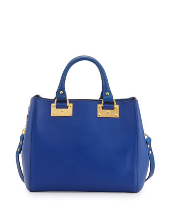 Mini Beaumont Tote Bag, Klein Blue