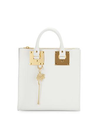 Albion Square Tote Bag, White