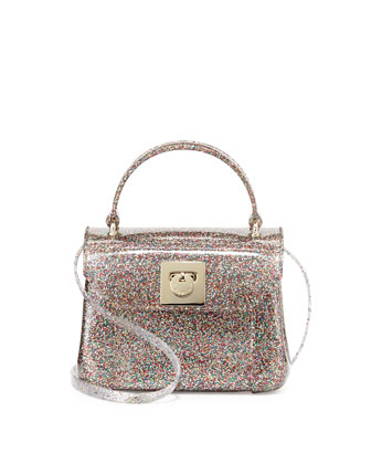 Candy Bon Bon Glittered Mini Crossbody, Multi