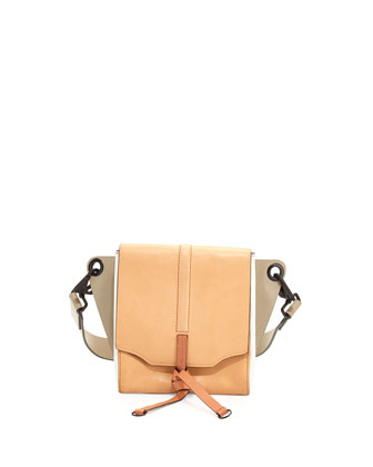 Aston Convertible Shoulder Bag, Nougat/Multi