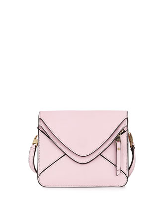 Slash Tiny 2.0 Flap Crossbody Bag, Pink