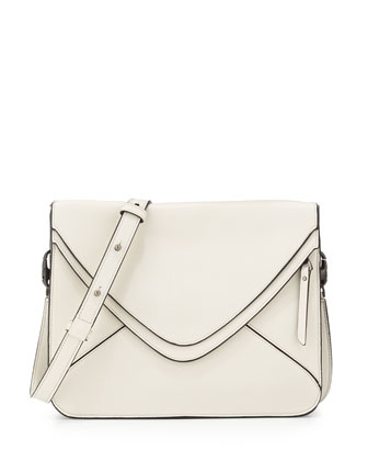 Slash Mini 2.0 Envelope Bag, Black/White
