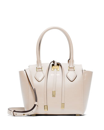 Miranda Extra-Small Tote Bag, Vanilla