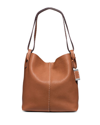 Rogers Large Slouchy Hobo Bag, Luggage