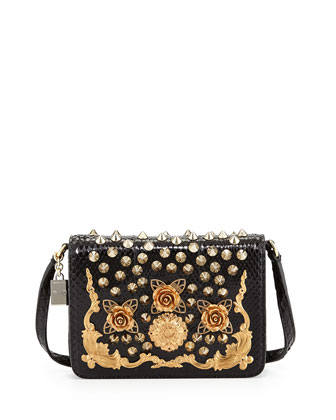 Lily Twist Crossbody Bag, Black