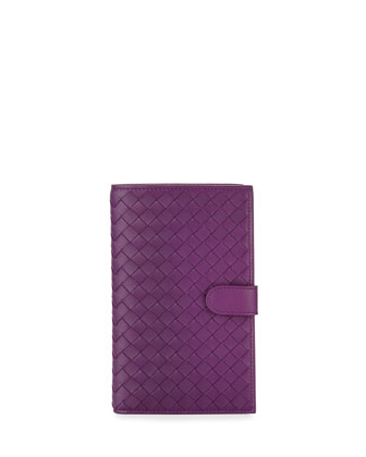 Woven Continental Wallet, Mona Lisa Purple
