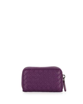 Mini Zip-Around Wallet, Mona Lisa Purple