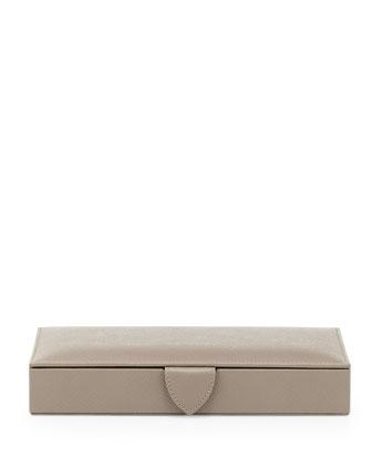 Panama Cuff Link Box, Gray