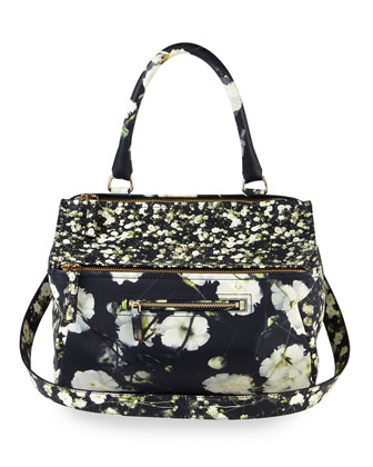 Pandora Medium Baby's-Breath-Print Bag