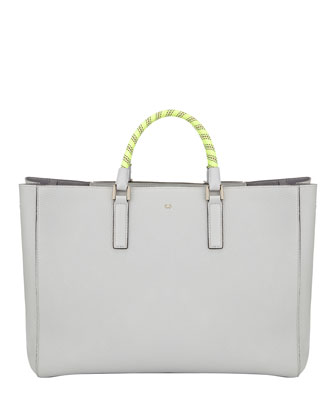 Ebury Large Rope-Handle Tote Bag
