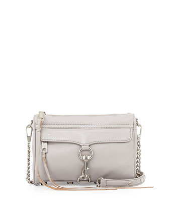 Mini M.A.C. Crossbody Bag, Smoke
