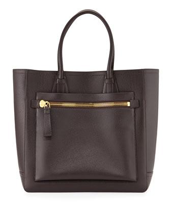 Tote Bag, Dark Brown