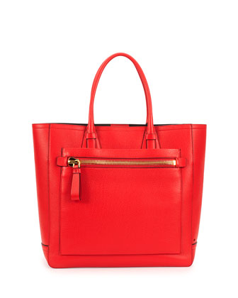 Tote Bag, Dark Orange