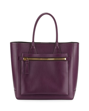 Tote Bag, Dark Purple