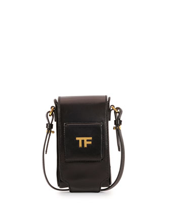 TF Leather Camera Case, Black
